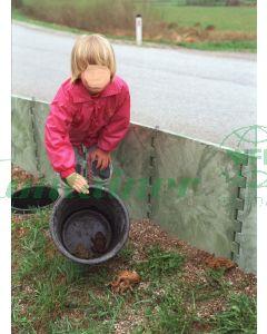 Amphibien Leitschutz Zaun: ALS SCHPL 50*50ol